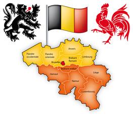 belgique - wallonie - flandre