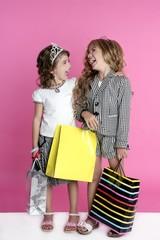 Little shopper humor shopaholic girls