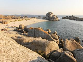 Küstenabschnitt an der Algarve, Portugal