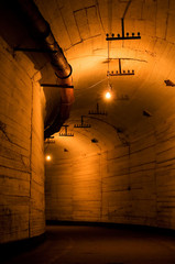 Tunnel of old Soviet military plant