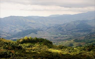 Mountains Costa Rica.
