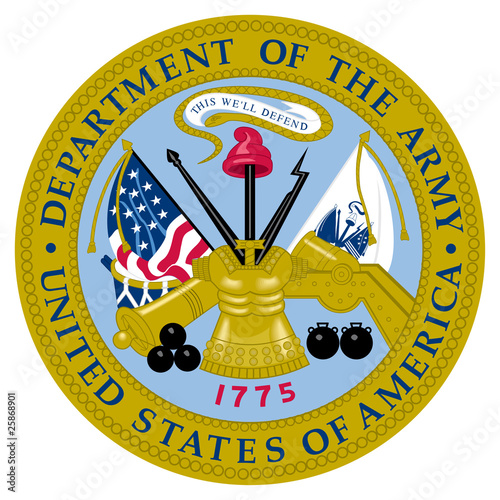 Wall mural United States Army Seal