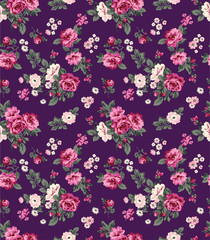 gorgeous roses seamless background