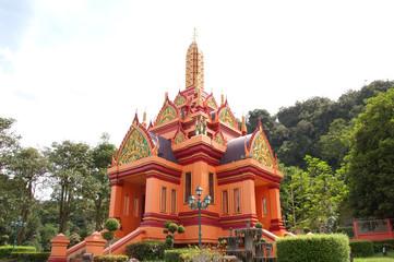 City Pillar Hall of Phangnga, Thailand.