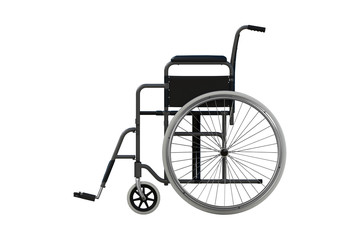 Wheelchair (side view)