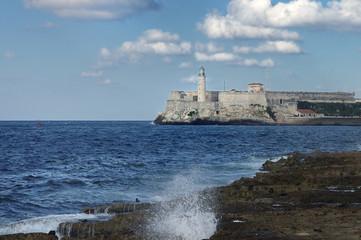 El Morro Fortress in Havana, Cuba