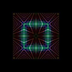 Abstrakt farbiges Hintergrundobjekt mit Platz für Text