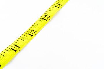 Detalhe de fita métrica