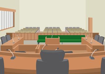 裁判所 法廷