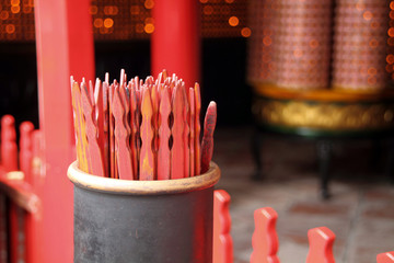 Traditional Chinese fortune sticks