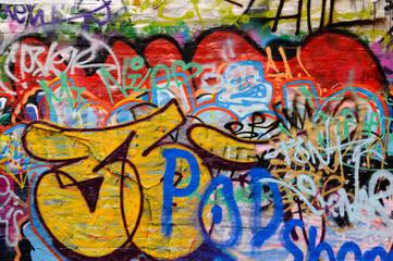 Colorful grafitti