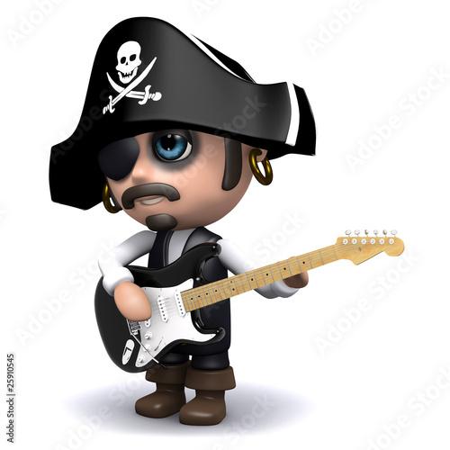 3d Pirate music