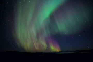 Northern Lights in Laponia