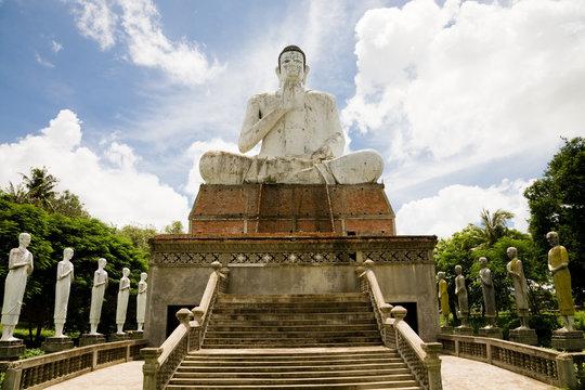Giant Buddha, Battambang, Cambodia