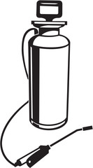 Insecticide Sprayer Vinyl Ready Vector Illustration