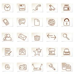 Icons gezeichnet