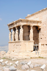 Close Up Side View, Karyatides, Erechtheion