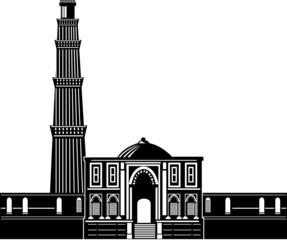 Qutub Minar building tower