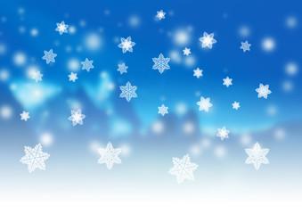 静かな雪景色