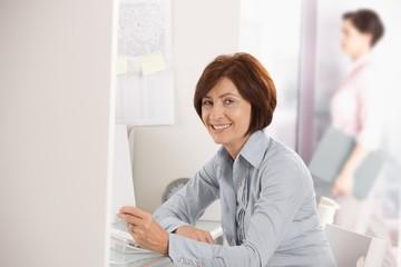 Portrait of mature office worker