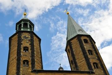 Башни старого немецкого города-крепость
