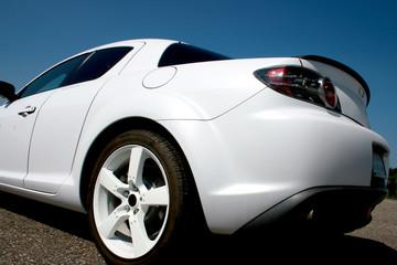 Deurstickers Snelle auto s Tuning Race