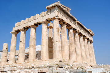 Parthenon Side Back view