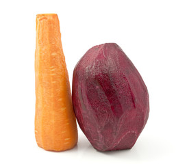 beets and carrots