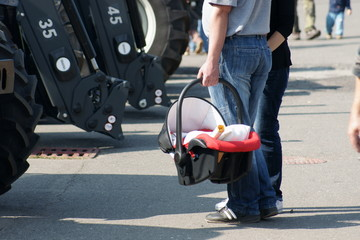 Portable Infant Car Seat