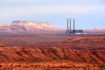 Navajo  Coal Power Station in  Page Arizona USA
