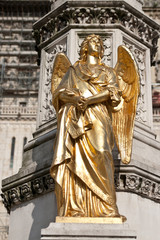 Angel statue at Zagreb