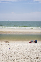 Quiet Beach in July, Gulf Coast