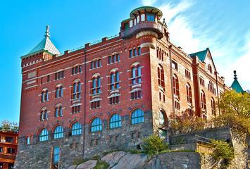 Fort à Göteborg en Suède