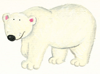 White Polar bear