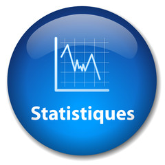 Bouton STATISTIQUES (données mathématiques analyse graphique)