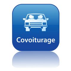 Bouton Web COVOITURAGE (environnement énergie écologie climat)
