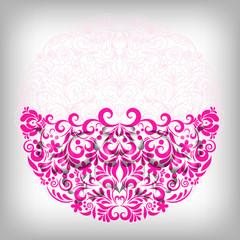 Soft pink floral background