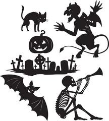 Halloween shapes