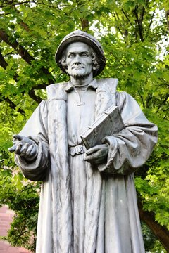 Statue - Melanchthon (nah)