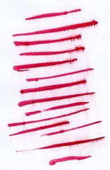 abstract watercolor background. red stripes.