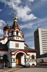 Temple in the Old Cheryomushki.