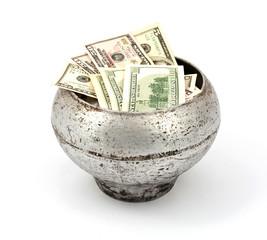 pot of dollars