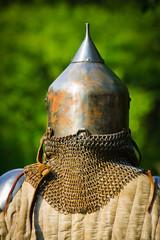 Poster Ridders man in knight's helmet