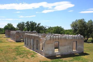 Ruins at Fort Laramie National Historic Site, Wyoming
