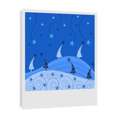 disegno di una foto natalizia
