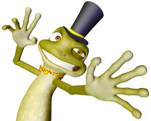 frog cartoon boo