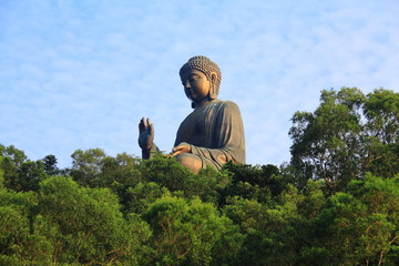 Copper Basin in the Buddha at Lantau Island Hong Kong 1