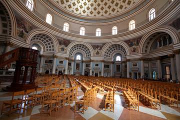 Mosta Dome interior, Malta
