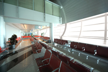 interior of modern Airport