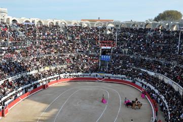 Foto op Textielframe Stierenvechten Corrida - Arènes - Matador - Toréador - Espagne